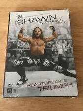 WWE - The Shawn Michaels Story: Heartbreak and Triumph (DVD, 2007, 3-Disc Set)