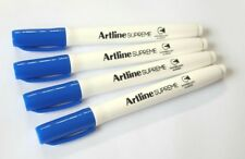 Artline Whiteboard Pens for children ** 4 x Blue Pens **
