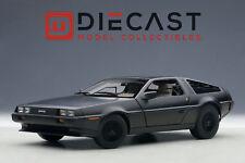 AUTOART 79912 DELOREAN DMC-12, MATT BLACK 1:18TH SCALE