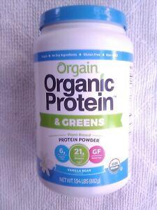 Orgain Organic Protein Powder and Greens 1.94LBS