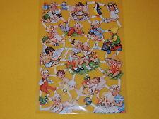 1x Poesiebilder Oblaten 015 Kinder Baby nostalgie Glanzbilder Kleinkinder