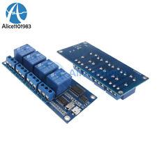 Micro Usb 5v 4 Channel Relay Module Usb Control Relay Module Serial Port New