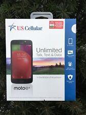 "U.S. Cellular  Motorola Moto E4 16GB PREPAID (Ready Connect ONLY), Black - 5"" HD"