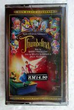 Thumbelina Movie Soundtrack OST Rare 1994 Cassette Tape Brand New Sealed