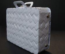 Sizzix Eileen hull wicker effect suitcase box mini vintage luggage die cut kit