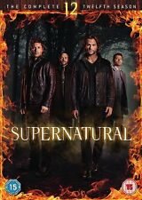 SUPERNATURAL Stagione 12 Serie Completa BOX 6 DVD in Inglese NEW .cp