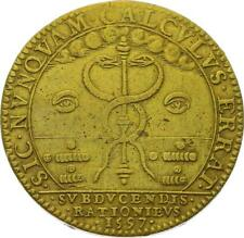 O3318 RARE Jeton Henri IV Chambre comptes 1597 ->Faire offre
