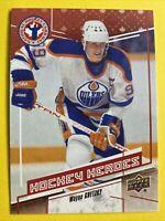 2017 Upper Deck NHCDC Hockey Heroes #CAN15 Wayne Gretzky Edmonton Oilers
