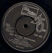 "SMOKEY ROBINSON just my soul responding/sweet harmony TMG 883 motown 7"" WS EX/"