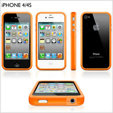 iPhone 4 4s Bumper New Stylish Hi Quality With Metal Button 7 Genuine Colours