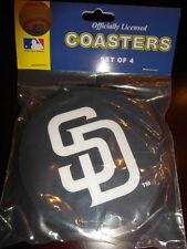 1 - 4 Pack Vinyl Drink Coasters - San Diego Padres
