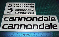 Cannondale Large Bike Decal Sticker Set MTB DH Cycling Road Racing
