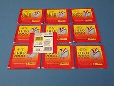 PANINI EURO 2000 EURO 00 HOLLANDE & BELGIQUE - 10 pochettes NEUF dans sa boîte/RAR (horizontal)