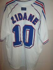 Francia 1998 Zidane 10 Away camiseta de fútbol Talla Xl / 33142