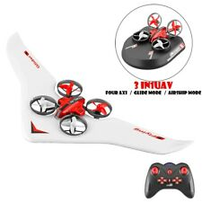 All In One Air Drone 3-Mode Glider Rc Quadcopter Rtf Rc Plane 4Ch Airplane Cny