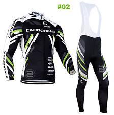 HOT Style Cycling Jersey Trouser Bib Long Pants Long Set Bicycle Wear Suit S-3XL