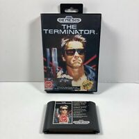 The Terminator (Sega Genesis, 1991) Case & Cartridge Only No Manual Tested !
