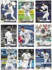 Scranton/Wilkes-Barre RailRiders Yankees 2021 baseball cards - pick from list