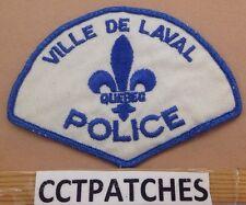 VILLE DE LAVAL QUEBEC, CANADA POLICE SHOULDER PATCH