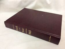 Britannica Book Of The Year 1965 Yearbook Review of Events in 1964 Birthday Gift
