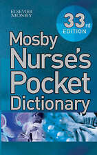 Mosby Nurse's Pocket Dictionary by Chris Brooker (Paperback, 2005)
