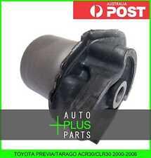 Fits TOYOTA PREVIA/TARAGO ACR30/CLR30 2000-2006 Rubber Suspension Bush Rear Arm