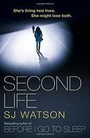 Watson, S J, Second Life, Like New, Paperback