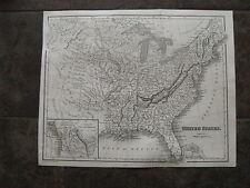 1841 Original Map of United States & Missouri Territory