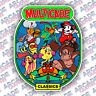 Multicade Donkey Kong Series Arcade Cabinet Game Graphic Artwork Sideart