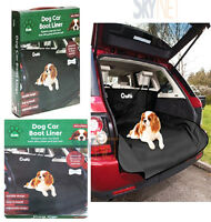 CRUFTS CAR BOOT LINER/COVER MAT FOR DOGS/TOOLS/PETS HEAVY DUTY TRUNK PROTECTOR