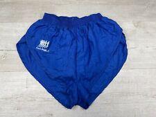 "Rare Frank Shorter Vintage 80's High Cut Silky Sheer Sprint Shorts Sz XS 28"""
