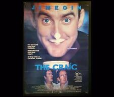 Craic 1999 Jimoen Irish Bio Original Australian OneSheet Cinema Movie Poster 351