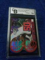 """ROOKIE CARD 2004 PRESS PASS BIG#S 25  17/25 EMEKA OKAFOR CARD GRADE A HOT 10"