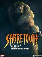 Marvel wolverine Sabretooth Classic Sideshow Premium Format Exclusive Statue new