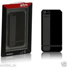 Funda de Coche Neumático STM Robust Harbour iPhone SE/5s/5 - Negro-Totalmente Nuevo-RRP £ 24.99