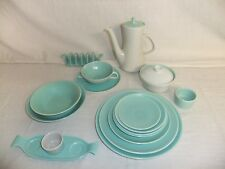 C4 Pottery Poole Twintone Seagull & Ice Green 2B3B