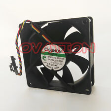 Replace For SUNON MF80251V2-Q010-S99 Fan 12V 3.6W 4wire 8025 Free ship