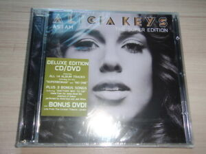 Thailand Promo CD & DVD ALICIA KEYS : As I Am Deluxe Edition Sealed...Rare!