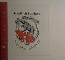 Aufkleber/Sticker: Landkreis Bernburg in Sachsen Anhalt (22121680)