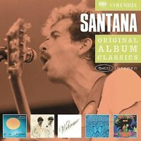 SANTANA - ORIGINAL ALBUM CLASSICS: CARAVANSERAI/LOVE DEVOTION SURRENDER/WELCOME/