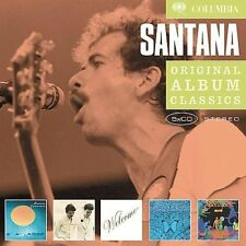 SANTANA - ORIGINAL ALBUM CLASSICS: CARAVANSERAI/LOVE DEVOTION SURRENDER/WELCOME/