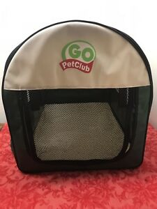 Go Pet Club Soft Crate for Pets, 24-Inch, Green Soft Crate NEW In Tote No box