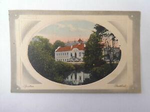 AK Prägekarte Sprottau Szprotawa Stadtbad 1911
