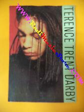 CARTOLINA PROMOZIONALE POSTCARD TERENCE TRENT D'ARBY 10x15 cm no *cd dvd lp mc