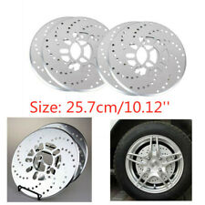 Car Brake Decorative Plate Modification Drum Brake Wheel Disc Brake 4 Silver