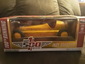 INDY RACER 100TH RUNNING INDIANAPOLIS 500 INDY ROADSTER GREENLIGHT RARE