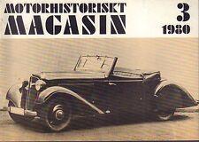 Motorhistoriskt Magasin Swedish Car Magazine 3 1980 Chevrolet 1948 032717nonDBE