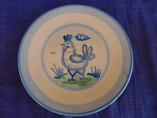 M.A. Hadley Country Scene SALAD PLATE have more HADLEY items CHICKEN DISCOUNT