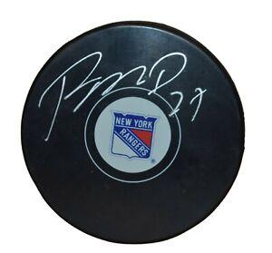 Ryan McDonagh New York Rangers Autographed Hockey Puck (Steiner)