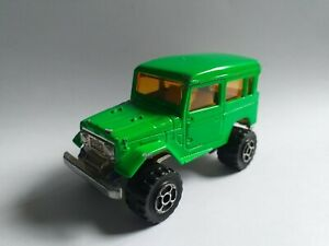 MAJORETTE green Toyota 4x4 No.277 1/53 Made in France car no box coche voiture